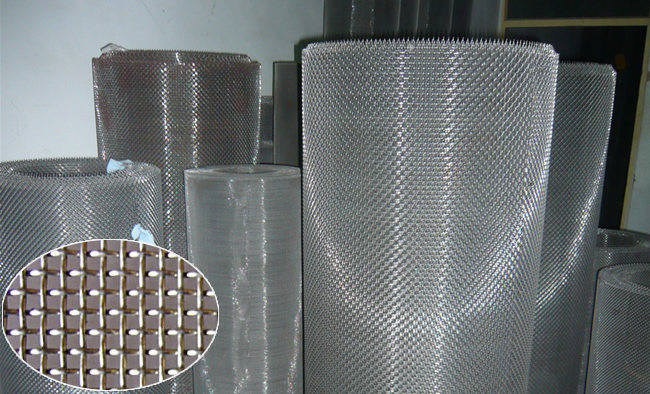 Stainless Steel Double Crimp Screen